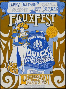 FluxFest, March 31, Longshoreman's Hall