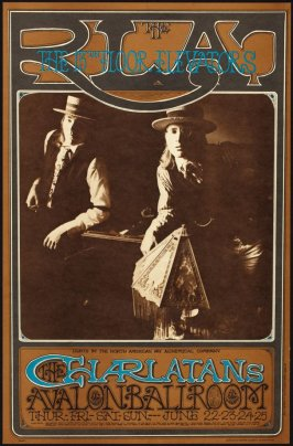 """RLAT,"" Charlatans, 13th Floor Elevators, June 22 - 25, Avalon Ballroom"