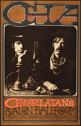 """CHA,"" Charlatans, Salvation Army Banned, Blue Cheer, May 26 - 28, Avalon Ballroom"