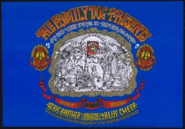 """""""Denver Opening,"""" Big Brother and the Holding Company, Blue Cheer, Eighth Penny Matter, September 8 & 9, 1601 West Evans St., Denver"""