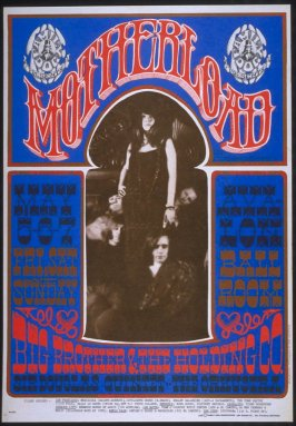"""Motherload,"" Big Brother and the Holding Company, Sir Douglas Quintet, Orkustra, May 5 - 7, Avalon Ballroom"