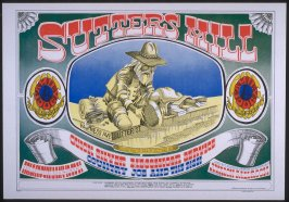 """Sutter's Mill,"" Quicksilver Messenger Service, Country Joe and the Fish, May 19 - 21, Avalon Ballroom"