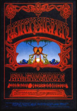 """Eternal Reservoir (or the Source),"" Quicksilver Messenger Service, Kaleidoscope, Charley Musselwhite, January 12 - 14, Avalon Ballroom"