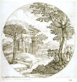 Landscape with a Column Shaft