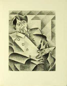 Homage to Pablo Picasso after Juan Gris in the book Du cubisme (Paris: Compagnie Française des Arts Graphiques, 31 July 1947).