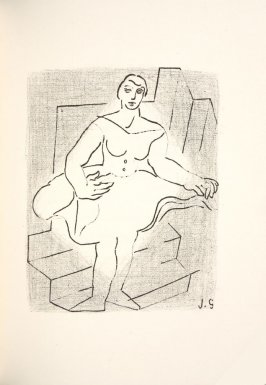 Untitled, in the book Le Casseur d'assiettes by Armand Salacrou (Paris: Galerie Simon, 1924).