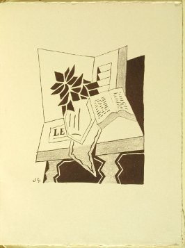 Untitled, in the book Denise by Raymond Radiguet (Paris: Éditions de la Galerie Simon, 1926)