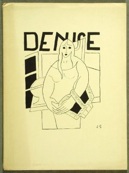 Untitled, cover for the book Denise by Raymond Radiguet (Paris: Éditions de la Galerie Simon, 1926)