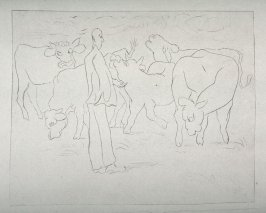 The Artist and Cows