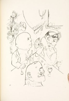 Trio, drawing 74 in the book Ecce Homo (Berlin: Malik-Verlag, [1923])
