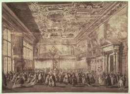 The Doge of Venice Receiving Ambassadors in the Sala dei Collegio