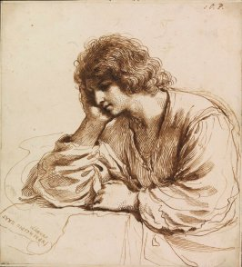 Saint John the Evangelist Meditating the Gospel