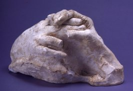 Hands Clasping, life cast