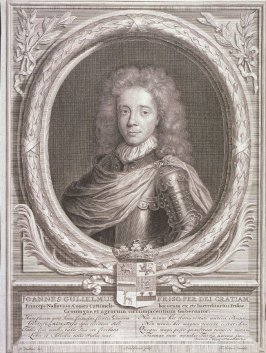 Portrait of Joannes Willem Friso, Prince of Nassau