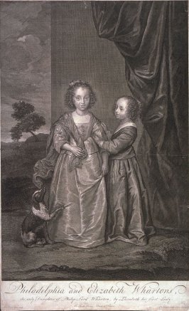 Philadelphia and Elizabeth Wharton, Daughters of Lord Wharton