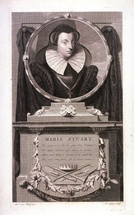 Portrait of Maria Stuart