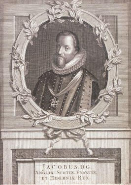 Portrait of Jacob D. G., King of England, Scotland and Ireland
