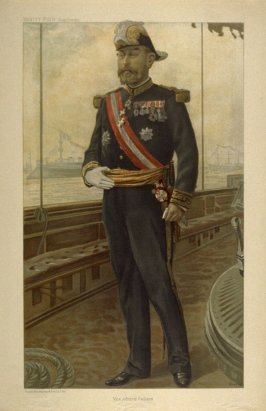 Vice Admiral Caillard from Vanity Fair Supplement