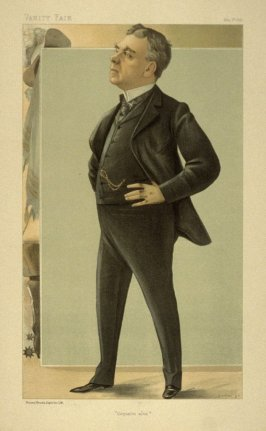 """Coquelin aîné"", from Vanity Fair, May 5, 1898"