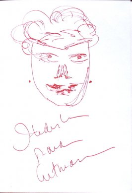 Untitled (Portrait), Illustration 59 in the book Sketchbook (Sun Valley, Idaho)