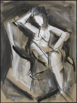 Untitled (Abstract Nude Female Figure)