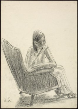 Untitled (Woman in a Chair)