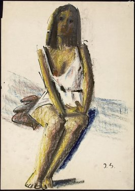 Untitled (Seated Woman, Hands in Lap)
