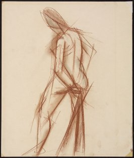 Untitled (Standing Nude Figure)
