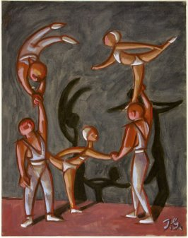 Untitled (Five Gymnasts)