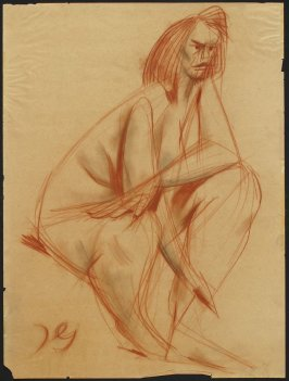 Untitled (Female Figure Study)