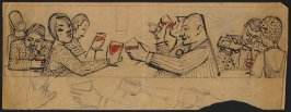 Untitled (Study of People Drinking Wine in a Bar)