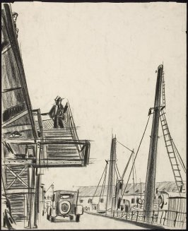 Untitled (Wharf Scene, Vancouver, Canada (?))