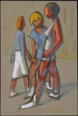 Untitled (Three Standing Figures)