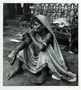 In India men and women, poor and rich, enjoy smoking the Hookah (water pipe).