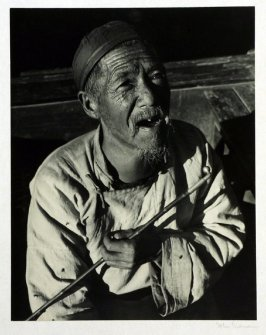 Old Chinese grain merchant.