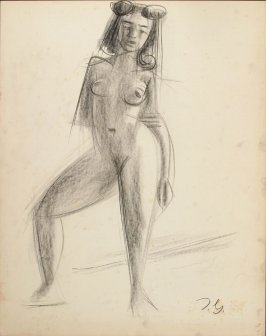 Untitled (Standing Nude Female Figure)