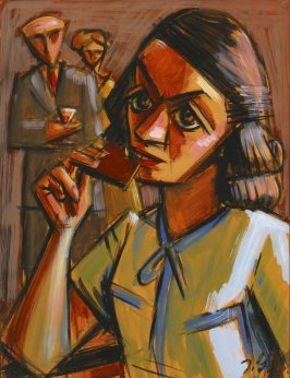 Untitled (Woman Taking a Bite)