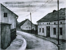 Street in Silesian Village