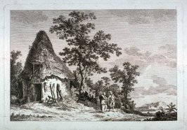 [Plate #3 from] Eight landscapes: views of Normandy dedicated to Madame A. D. Therbouche
