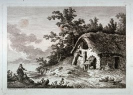 [Plate #4 from] Eight landscapes: views of Normandy dedicated to Madame A. D. Therbouche