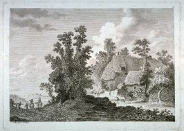 [Plate #5 from] Eight landscapes: views of Normandy dedicated to Madame A. D. Therbouche