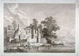[Plate #6 from] Eight landscapes: views of Normandy dedicated to Madame A. D. Therbouche