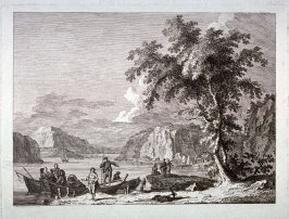 [One from] Eight landscapes: views of Normandy dedicated to Madame A. D. Therbouche