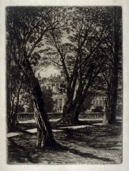 Kensington Gardens No. 1 (Small Plate)