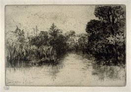 Shere Mill Pond No. 1 (Small Plate)