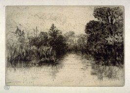 Shere Mill Pond, No. 1 (a small study)