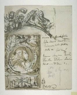 Study for Francis Seymour Haden's Bookplate