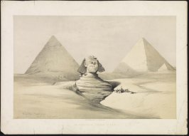 The Great Sphinx, Pyramids of Gezeeh - Egypt