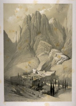 Convent of St. Catharine with Mount Horeb - The Holy Land