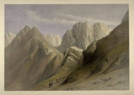 Ascent of the Lower Range of Sinai- The Holy Land